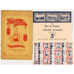Philatelic Ephemera (Stamps & Magazine)  (55645)