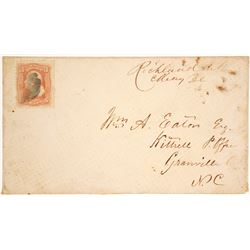 Cover with Manuscript Cancellation  (63176)