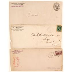 Misc. Postal Covers (3)  (65057)