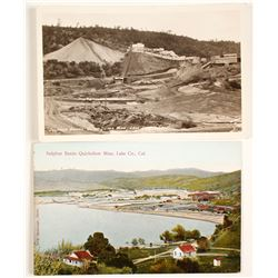 Lake County Mines Postcards  (63841)