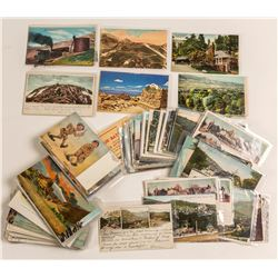 Manitou and Pike's Peak Postcard Collection  (571631)