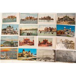 Saltair Resort Postcard Collection (Great Salt Lake, Utah)  (55442)