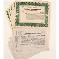 Sacramento Northern Railroad Certificates  (86920)