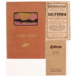 3 California Railroad Guides  (54652)