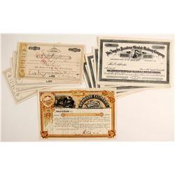 3 S.California RR Co. Certificates  (86926)