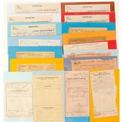 California Railroad Ephemera Collection  (60454)