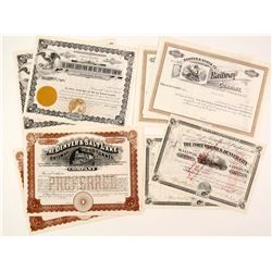Four Denver Railroad Co Stocks  (86918)