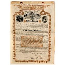 Shore Line Railway Company Gold Bond  (63934)