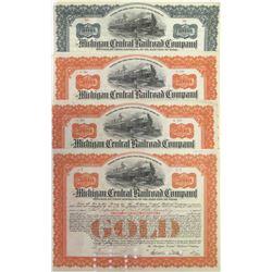 Four Michigan Central Railroad Company Bonds  (63093)