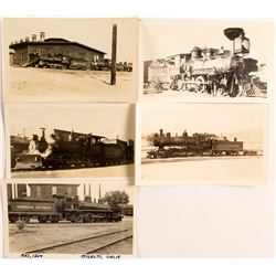 5 Different Railroad Engines  (50868)