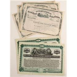 New Mexico Railroad stocks  (86944)