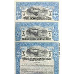 Cleveland, Cincinnati, Chicago & St. Louis Railway Bonds  (60493)