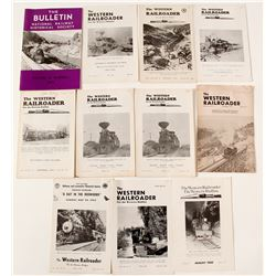 Ten Volumes of The Western Railroader Plus One Extra  (55663)