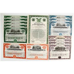 Chicago, Milwaukee, St. Paul and Pacific Railroad Stocks  (86908)