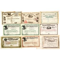 6 Different Eastern Railroad Co.'s  (86901)