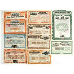 Choctaw, Oklahoma and Gulf railroad Co Stock  (86905)