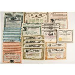 Eastern Railroad Co Certificates  (86912)