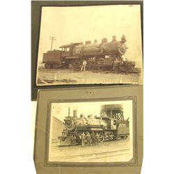 Locomotives Matted Photos (2)   (56751)