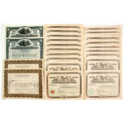 Ohio and Indiana railroad Certificates  (86904)