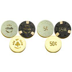 Three Gambling Chips  (76749)