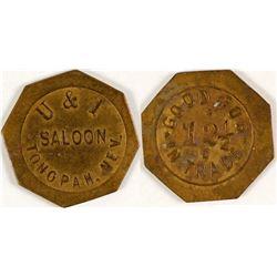 U & T Saloon Token  (80915)
