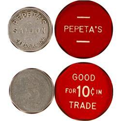 Pepeta's Saloon Tokens  (80923)