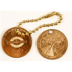 ASARCO 50th Anniversary Medals (2)  (64505)