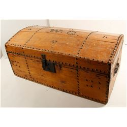 Trunk with Brass Studs   (86861)