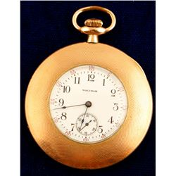 Small Vintage Waltham Open Face Pocket Watch  (46213)