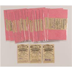 Wells Fargo California Receipt Collection  (54433)