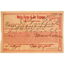 Wells Fargo Tonopah Billhead  (63438)