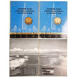 2 Golden Gate Int'l Expo Souvenir Books  (73022)