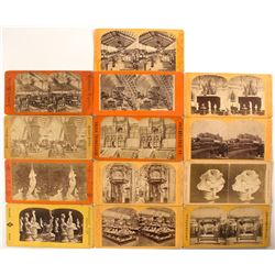 1876 Centennial International Exhibition Stereoview Collection  (50650)