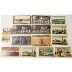 Miscellaneous Worlds Fair & Exposition Stereoview Group  (50665)