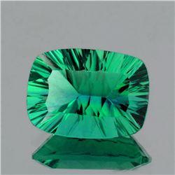 Natural ConCave Cut Best AAA Emerald Green Fluorite -FL