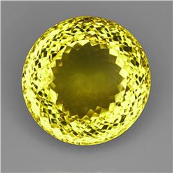 Natural Lemon Citrine Gemstone 104.72 Carats - VVS