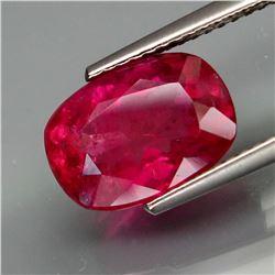 Natural Top Hot Pink Tourmaline 3.58 Carats