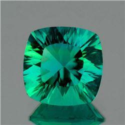Natural  AAA Emerald Green Blue Fluorite 15 MM - FL