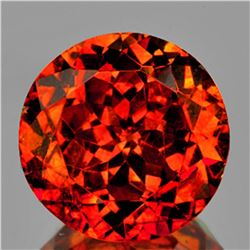 Natural Rare AAA Fire Orange Sphalerite 7.13  Cts - VVS