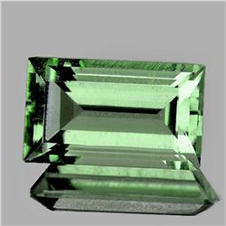 NATURAL Light GREEN AMETHYST 12.5x7 MM - FL