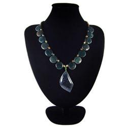 Natural MultiColor Pietersite Diamond Polished Necklace