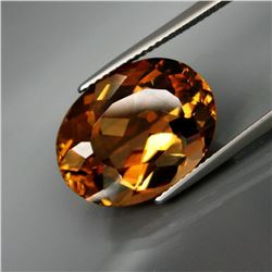 Natural Peach Champagne Topaz 16.33 Ct