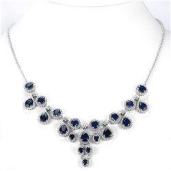 Natural BLUE SAPPHIRE 135 Ct Necklace