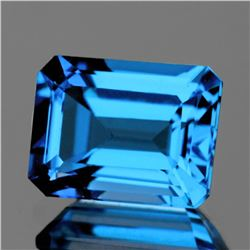 Natural AAA Swiss Blue Topaz 16x12 MM - FL