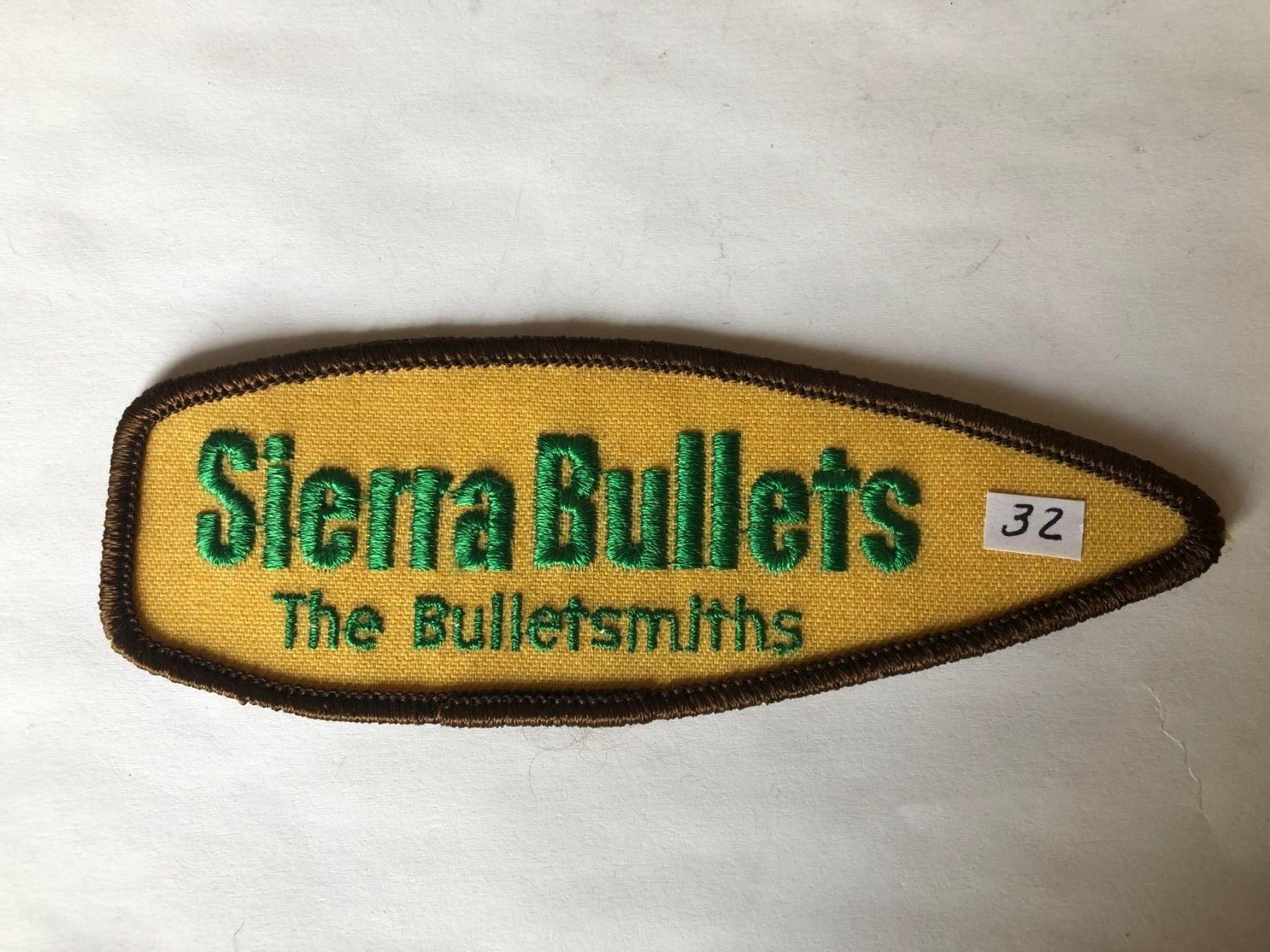 Vintage Sierra The Bulletsmiths Patch