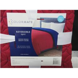 New TWIN xl Reversable Quilt