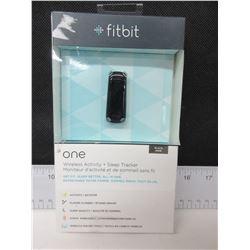 New FitBit One Wireless Activity + Sleep Tracker / black