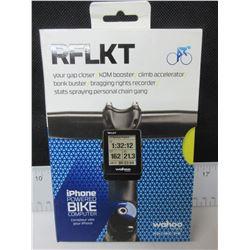 Wahoo RFLKT  I-Phone power Bike Computer/bluetooth