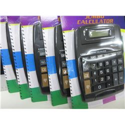 Bundle of 5 New Calculators / great for office or home /