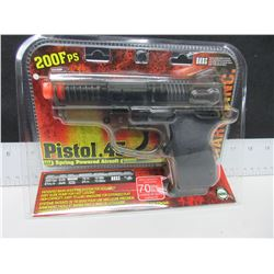 New Air Soft .45 cal Pistol 200fps spring powered / high capacity mag 70bb's